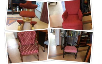Herstofferen Stokke stoelen